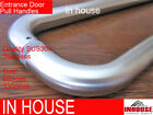2x Entrance Door Handles,Satin Stainless Steel ,size:600,1200mm