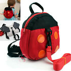 Bat And Ladybug Kids Toddler Walking Safety Harness Backpack Security Strap Bag