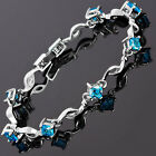 Fashion Charming Jewelry 18K White Gold Plated Tennis Bracelet Gift