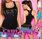 NEW SEXY WOMEN'S TOP PARTY CASUAL CLUBBING SINGLET SHIRT SUMMER FASHION CLOTHING