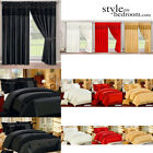 Sequin & Lace Duvet Cover Bedding Set / Lined Curtains / Bedspread / Cushions