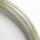 .925  Silver Filled Round Wire Half Hard / Dead Soft  Findings Many Gauge