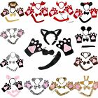 XMAS Halloween Animal Pets Reindeer Minnie Cat Lion Sheep 4pc Party Costume Set