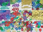 CONFETTI (Qualatex)- Happy Birthday & Anniversary (Party Table/Card Decorations)