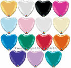 "10 x 18"" Foil Heart Helium Balloons Wedding Engagement Valentine Day Decorations"
