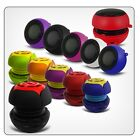 Portable Speaker 3.5mm Fits Samsung I9070 Galaxy S Advance, Rechargeable Little