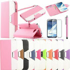 New PU Flip Leather Wallet Stand Case Cover For Samsung Galaxy Note II 2 N7100