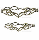 ELVEN LEAF CROWN ELROND LOTR GOLD LORD OF THE RINGS HOBBIT * 2 SIZES * 15 STYLES
