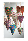 BNWT Namaste Floral Design Heart Christmas Decoration!!