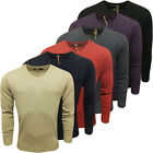 Mens Knitwear Kensington Plain V Neck Jumper Knitted Top Smart Casual New