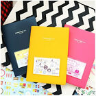 New Como Como Diary Ver.4 Undated Journal Planner Organizers +14 illust Cards