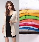 Fashion Women Long Sleeve Knitwear Cardigan Shirt Coat Jacket Sweater Outwear