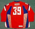 DOMINIK HASEK 2006 Czech Nike Olympic Throwback Hockey Jersey
