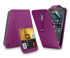 FLIP LEATHER CASE + RECTRACTABLE STYLUS + SCREEN GUARD FOR BLACKBERRY CURVE 9320