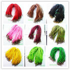 Wholesale multicolor ribbon voile necklace cord chain necklace 18 inch YIYI-66