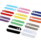 1/10 Colorful Top and Bottom Glass Back Cover Repair For iPhone 5S