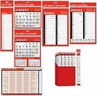 RED/BLACK - CALENDAR/PLANNER 2014 (Month to View) - Large Range of Styles/Sizes