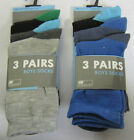 RJM Accessories - SK337 - Boys 3 Pack Socks - Various Sizes  - 2 Colours