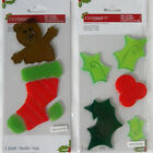 NEW  Christmas  Holiday Window Gel Clings Reuseable Choose from 2 Designs
