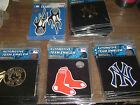 MLB New York Yankees emblem Auto Car truck Aluminum Logo Color Chrome Flame