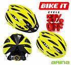 NEW ARINA QUEST CYCLE HELMET ADULT FLUORO YELLOW - ROAD MTB BICYCLE CYCLING BIKE