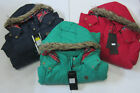 LJK-HOP- Ladies Brave Soul Padded Coat, Colours- Red, Navy&Green.
