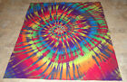 USA Made Extra Warm Tie Dye Dyed Flannel & Blizzard Fleece Baby Toddler Blanket