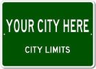 CITY Limit Customized Aluminum Signs