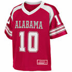 Alabama Crimson Tide Toddler End Zone #10 Football Jersey - Cardinal COJF80014