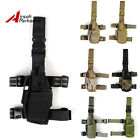 Tactical Military Airsoft 1000D Pistol Drop Leg Thigh Holster Pouch Left Hand