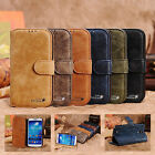 HIGH QUALITY GENUINE LEATHER WALLET STAND CASE COVER FOR SAMSUNG GALAXY S4 I9500