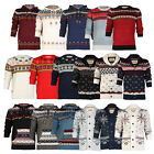 E19 ROCK & REVIVAL MENS CHUNKY KNITTED CARDIGAN WINTER LONG SLEEVE JUMPER S-XL