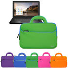 "Neoprene Handle Carrying Cover Sleeve Case Bag For 11.6"" HP Chromebook 11 Laptop"