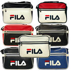 Fila Docena Airline Retro Record Messenger Bag Vintage Laptop School Style
