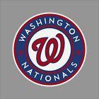 Washington Nationals MLB Team Logo Vinyl Decal Sticker Car Window Wall Cornhole