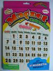 MAGNET SCENES - Calendar - Farm - Letters - Numbers (Magnetic) {fixed £1 p&p}