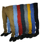NEW MENS ZICO JEANS SKINNY TWILL DESIGNER SLIM FIT CHINOS ALL WAIST AND LEG SIZE