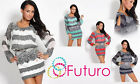 ♥ Magnificent High Quality Mini Dress ♥ Open Arms Tunic Style Size 8 - 14 FC07