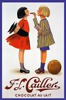 Girls Basketball Chocolate Candy Cocoa Sport Vintage Poster Repro FREE S/H