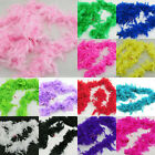 1.8M Feather Boa Hen Night Party Burlesque Fancy Dress Boas Various Colors