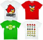 Boys Trendy Ex Chainstore Angry Birds T-Shirt  Top 9-15 yrs NEW (4 Styles)