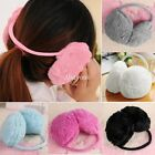 Women Ladies Girls Winter Warm Faux Fur Fleece Fluffy Ear Muff Warmers Earmuffs