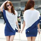 Womens Sexy Summer Casual Chiffon Short Mini Evening Cocktail Party Lady Dress