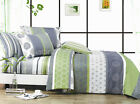 DEXTER Sheet Set Double/Queen/King Size Bed Flat&Fitted&Pillowcases Cotton New
