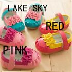 New Baby Girls Shoes PU Leather Skidproof Infant Toddlers Bow Flat Sole Spring