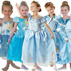 Childs Disney Kids Cinderella Classic Princess Fancy Dress Book Week New Costume
