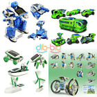 Hot 3/6/7/14 In 1 Educational Assembly Rechargeable Toy Car Robot Tank Kit KZUK