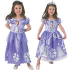 Childs Disney Princess Classic Deluxe Sofia Fancy Dress Kids Costume Bag & Shoes