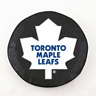 Toronto Maple Leafs NHL Exact Fit Black Vinyl Spare Tire Cover by HBS Covers