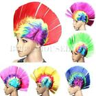 Mohawk Hair Wig Mohican Punk Rocker Halloween Fancy Party Dress Disco Costume
